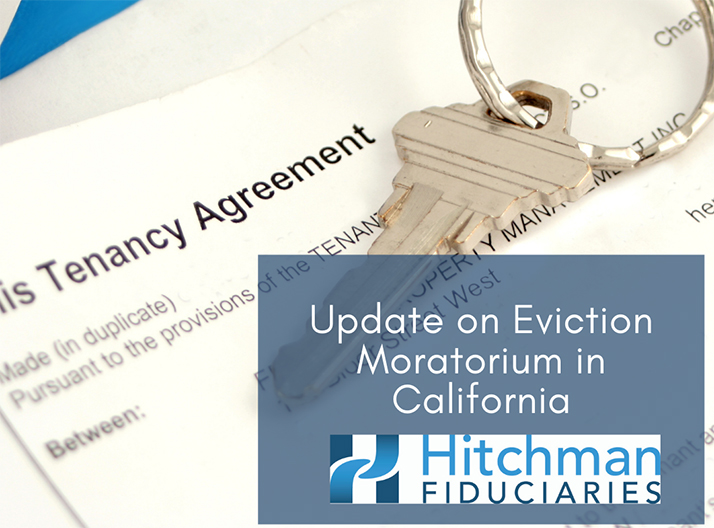 Recent Update on Eviction Moratorium in California